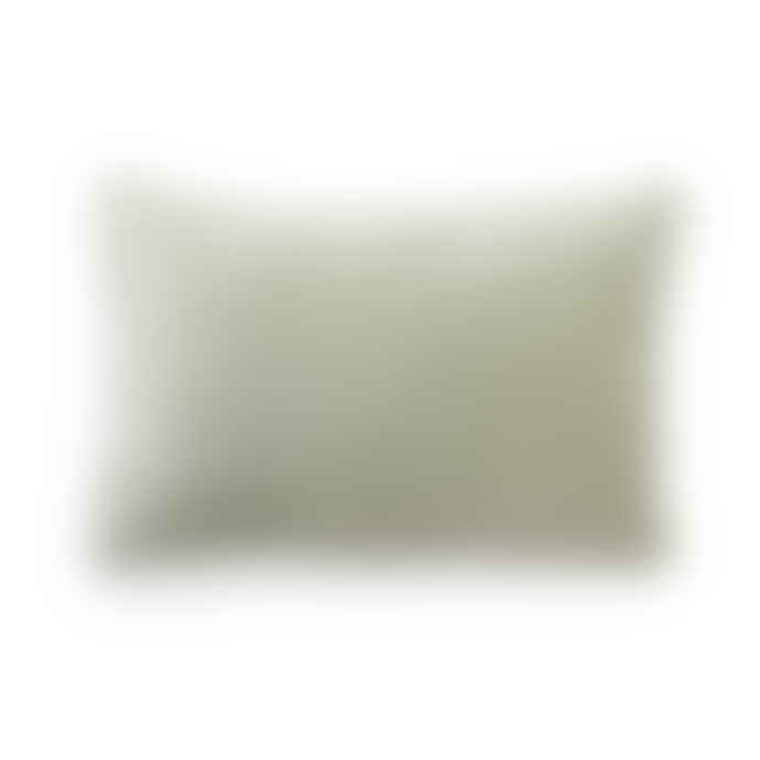 HK Living Velvet Cushion Green 60x40cm