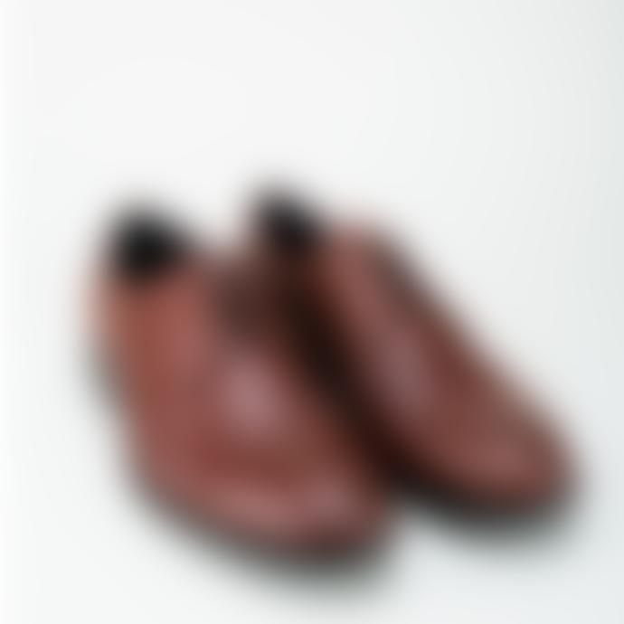 Vagabond HARVEY Brandy Leather Shoes