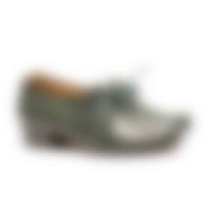 Tracey Neuls Online CUSCUS Sage | Green Leather Shoe