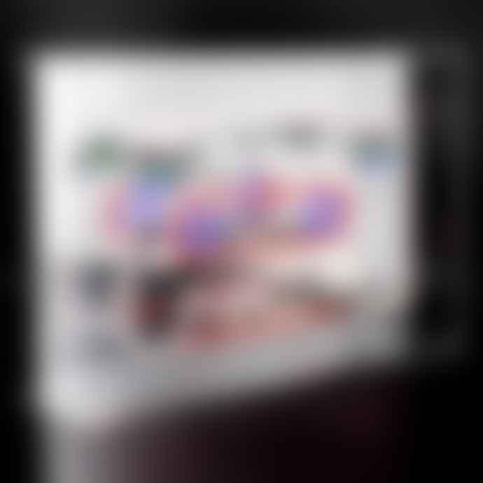 Locomoceon Neon Cassete 'Rewind' Acrylic Box