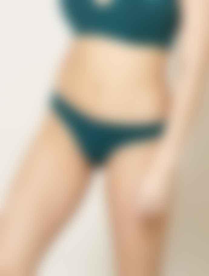 Beija London Splash Bikini Brief In Green