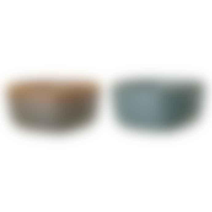 Bloomingville Aime Multi Colour Stone Serving Bowl