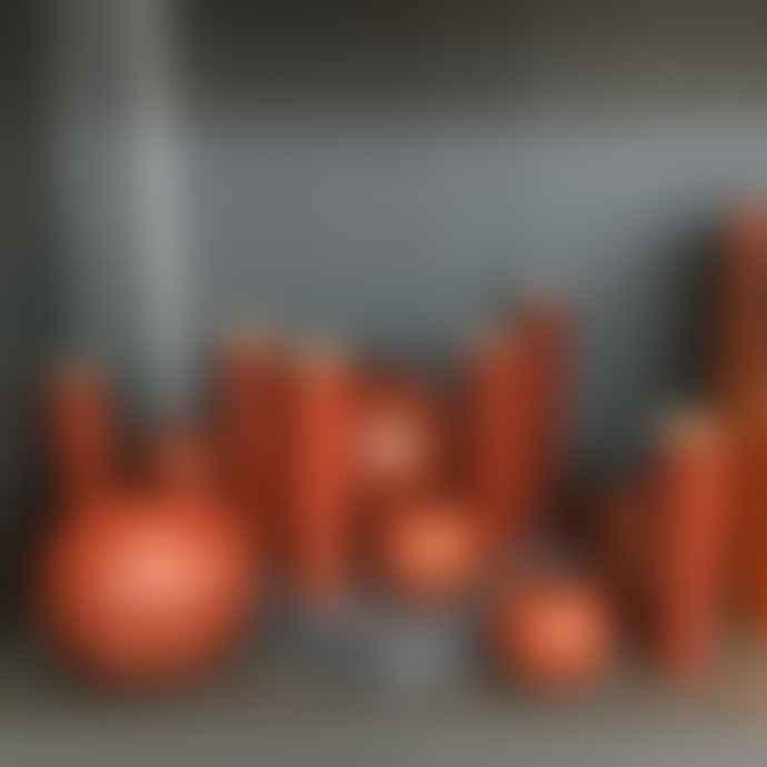 Serax Anita Le Grelle Tube Vase Rust