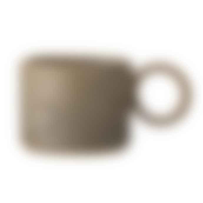 Bloomingville Brown Glazed Stoneware Thea Mug
