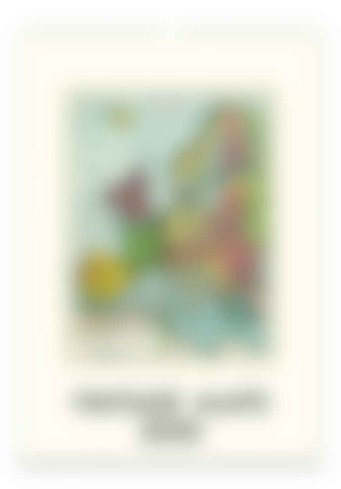 Cavallini Vintage Maps Wall Calendar
