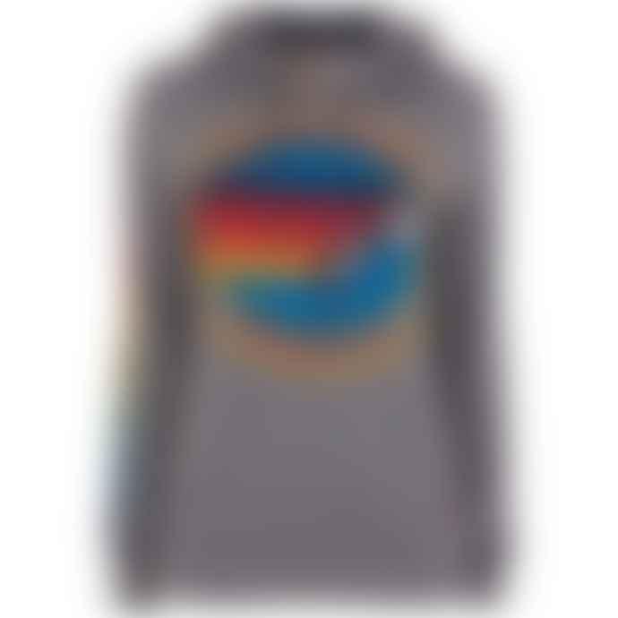 Aviator Nation Logo Pullover Grey