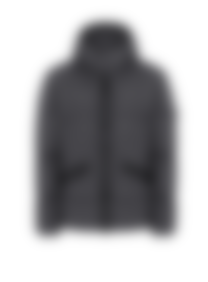 Stone Island  Hooded Down Jacket . GARMENT DYED CRINKLE REPS NY DOWN.