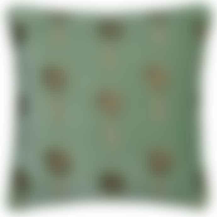 Elizabeth Scarlett African Palmier Khaki Cushion