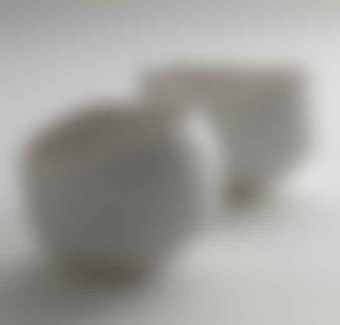 Serax White Porcelain Medium Plaster Bowl