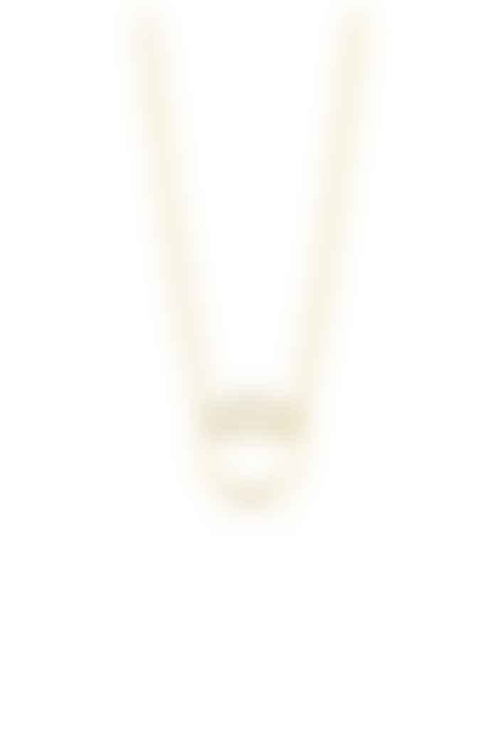 Ania Haie Textured Gold Necklace