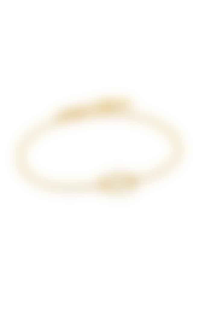 Ania Haie Textured Gold Bracelet