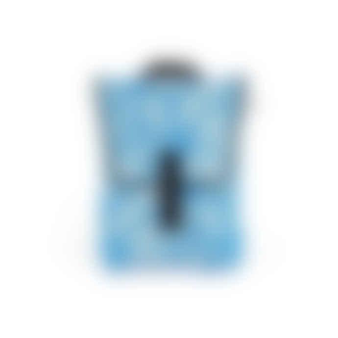 "Pijama Mini Backpack for 13"" Laptop in Blue Flower Print"