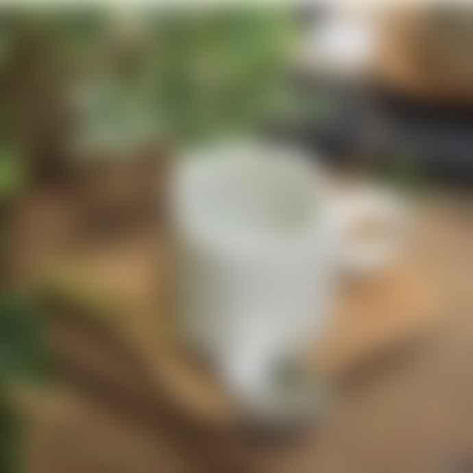 Raine And Humble Small Handmade Mug In Milk White