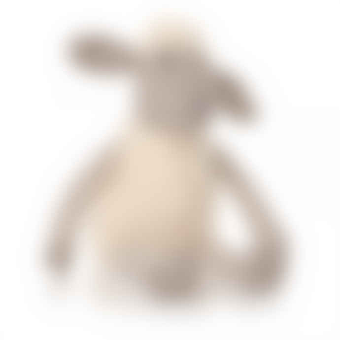 Half Moon Bay Taupe and Beige Knitted Lamb Teddy
