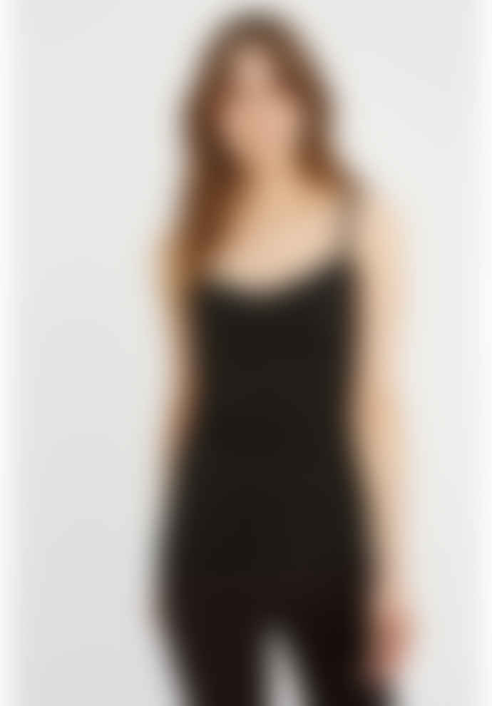 People Tree Hidden Support Camisole in Black
