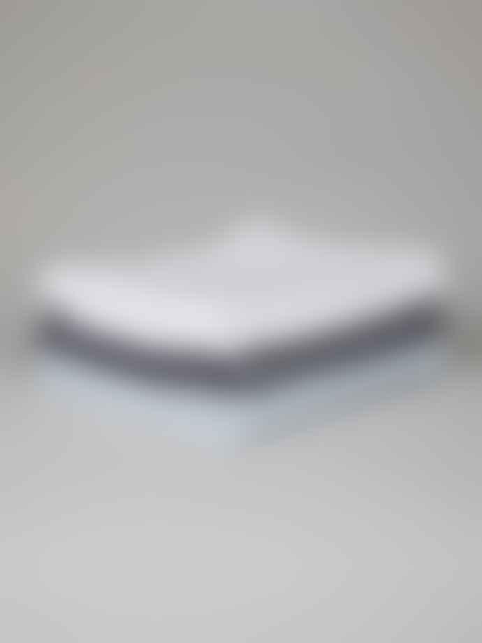 Chalk UK Medium White Cotton Towel
