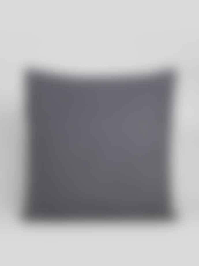 Chalk UK Charcoal Felt Square Cushion