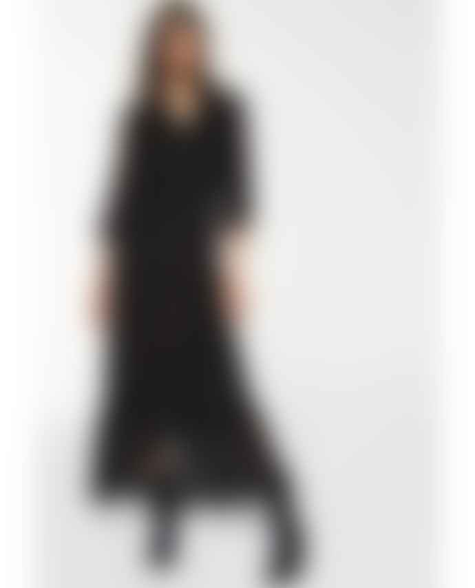 BA&SH Selena Zebra Maxi Dress