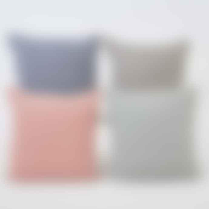 Weaver Green Jaipur Acorn Coral Cushion