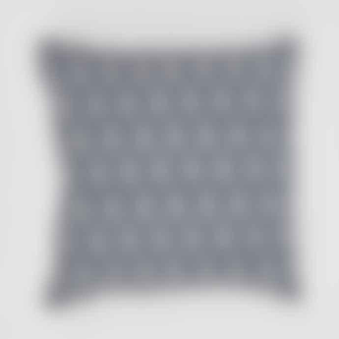 Weaver Green Jaipur Acorn Navy Cushion
