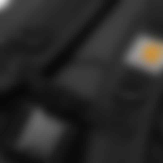 Carhartt Carhartt WIP Kickflip Backpack Black