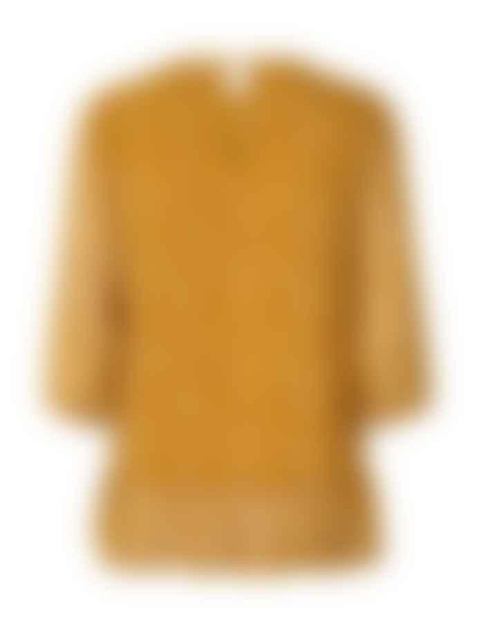 Lollys Laundry Lollys Laundry Jenny Blouse In Mustard