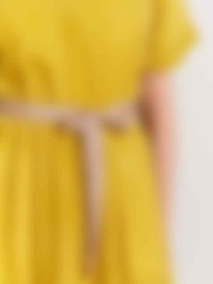 Bellerose Hoek Dress In Pollen