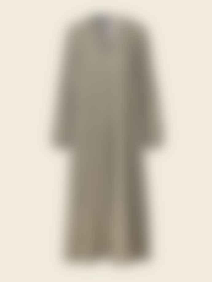 Stine Goya Brooklyn Oversized Gingham Maxi Dress