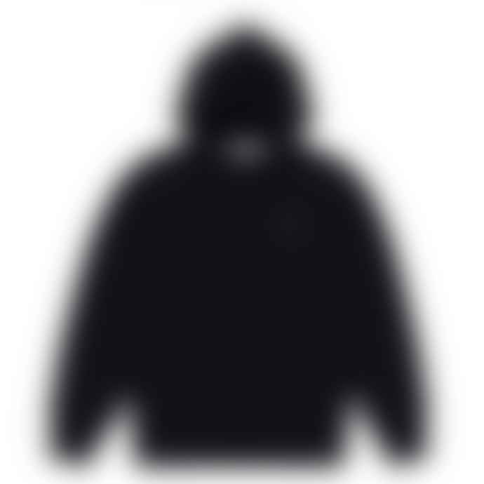 Comme Des Garcons Play Comme des Garçons Hooded Sweatshirt with Big Hearts (Black) P1T254