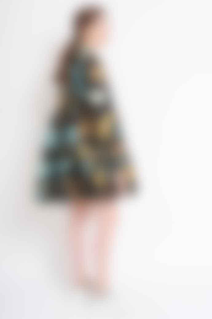 Stine Goya Jasmine Dress In Flower Garden Autumn