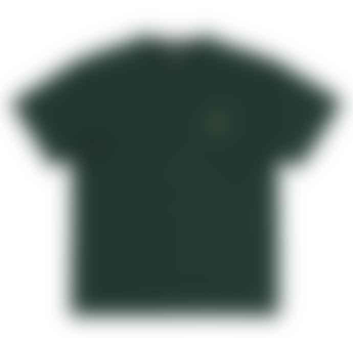 Carhartt Carhartt WIP Chase T Shirt Dark Fir Gold