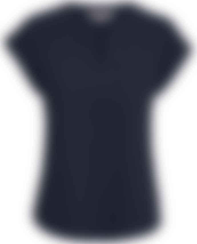 Part Two Kedita Dot Navy T Shirt