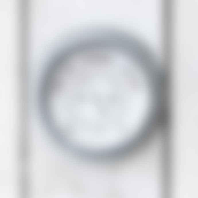 Silver Galvanised Steel St Ives Barometer
