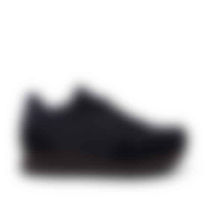 Woden Black Nora II Plateau Sneakers