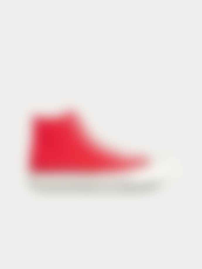 Converse Enamel Red Canvas Chuck Taylor All Star 70 High Top Shoes