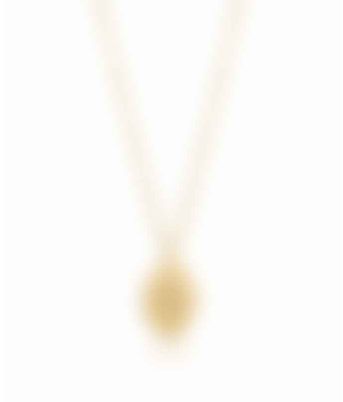Edge of Ember Gold Plated Sterling Silver Star Locket Necklace