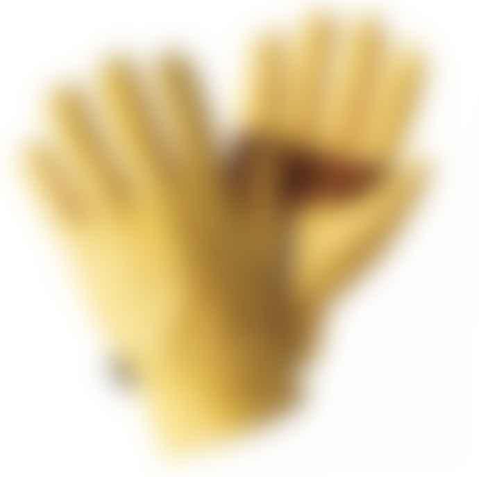 Premium Leather Glove  Golden Large