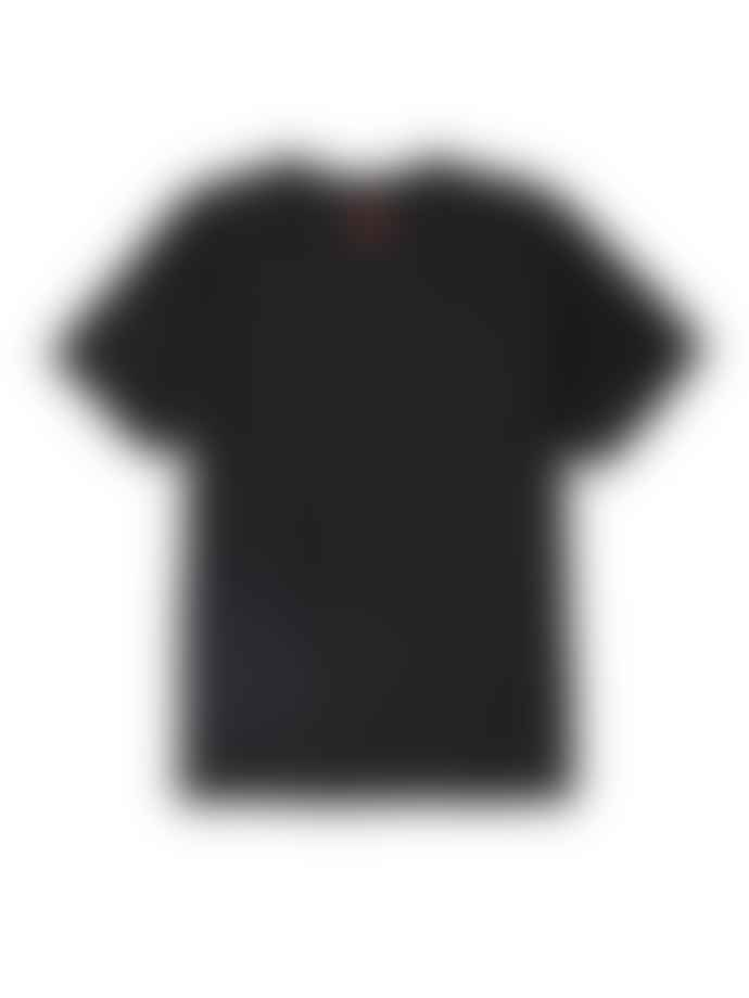 OBEY Black Cotton 3 Faces 30th Anniversary T Shirt