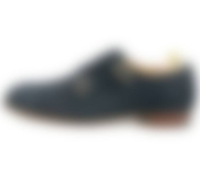 Joseph Cheaney Cheaney 'Hunt II' Navy Blue Suede Leather Men's Shoes