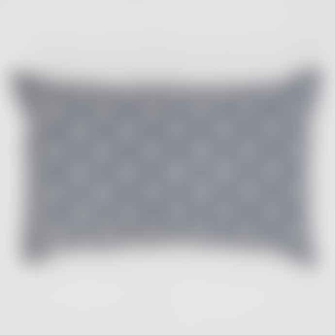Weaver Green Indian Block Print Cushion