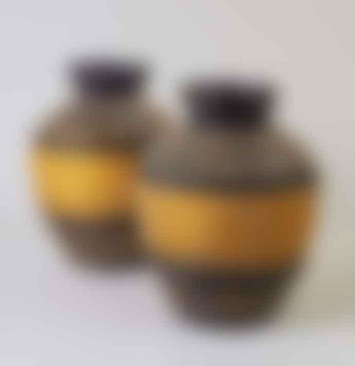 Lavender & Green Seagrass Vase