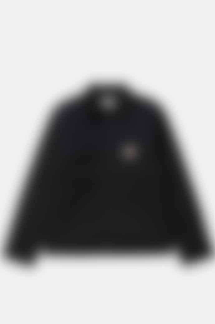 Carhartt Detroit Jacket In Black Rigid