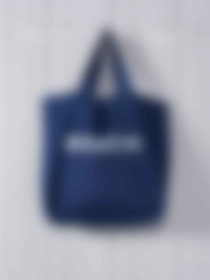 Chalk UK Chalk UK Dark Denim Shopper Bag