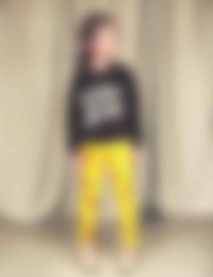 Mini Rodini Cherry Leggings Yellow