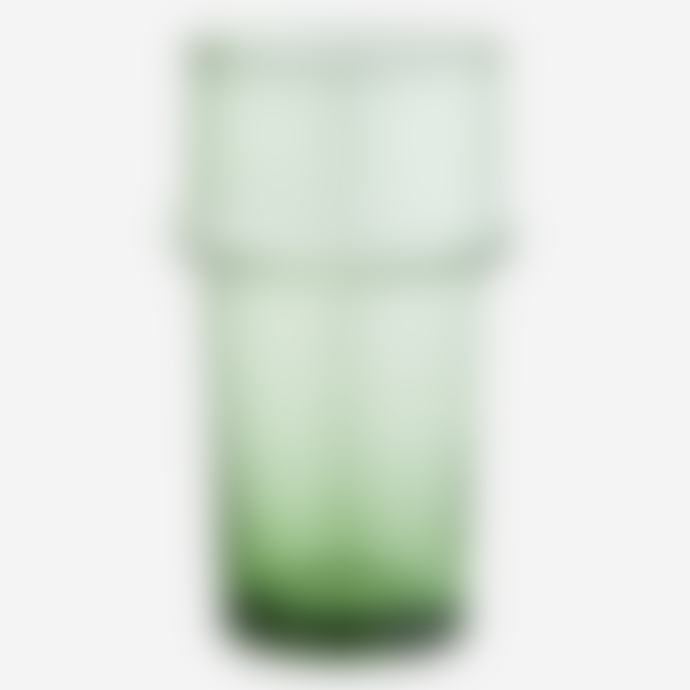 Madam Stoltz Set of 6 Emerald Green Beldi Glasses, Tall