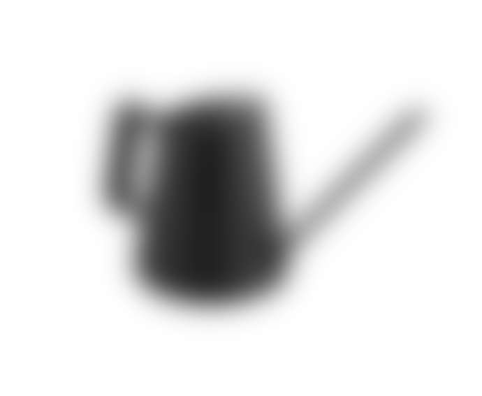Present Time Black Grace Small Watering Can