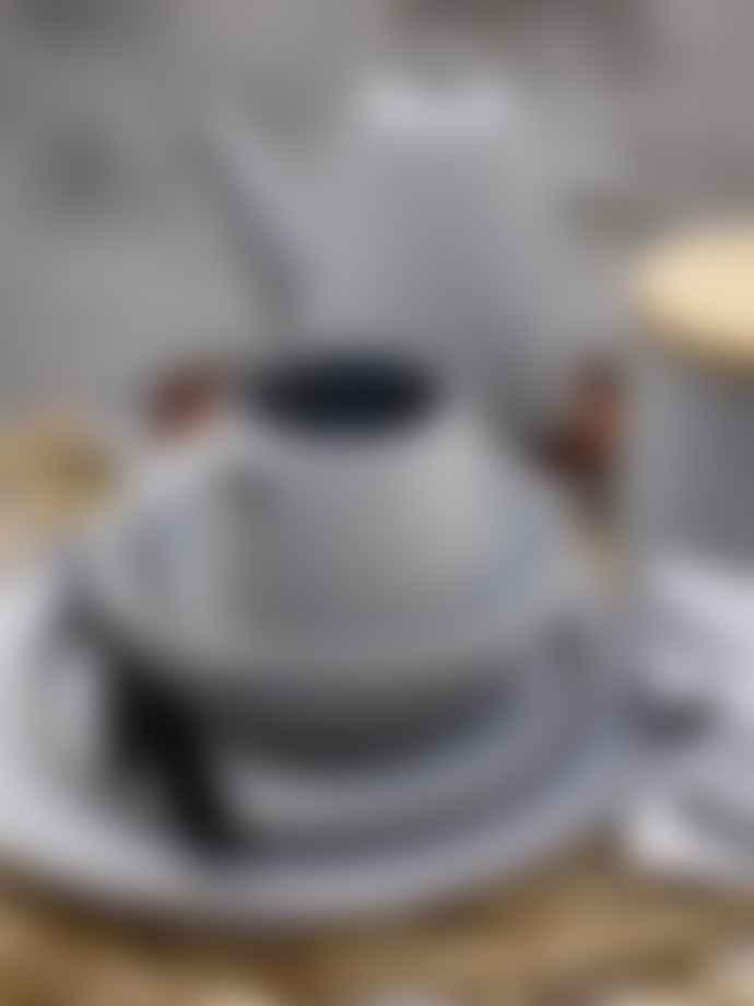 Bloomingville Grey Ceramic Kendra Teapot