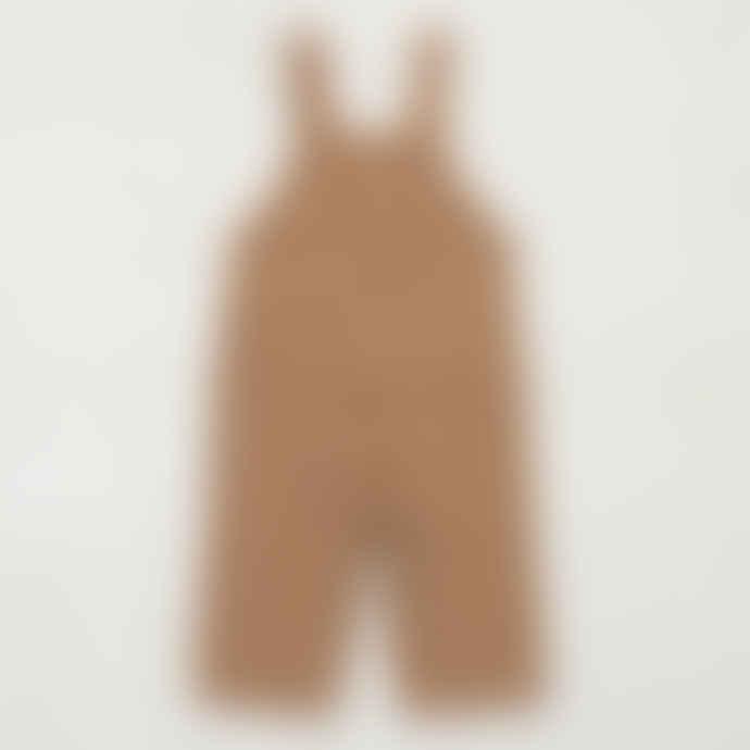 Misha & Puff Cotton Canvas Lattice Girls Overall