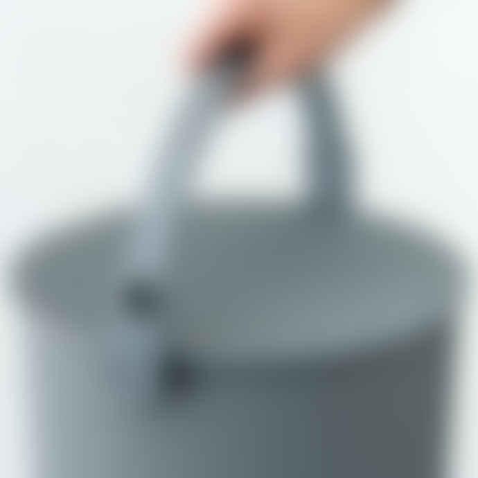Hachiman Omnioutil Storage Bucket & Lid Medium in Mustard Yellow