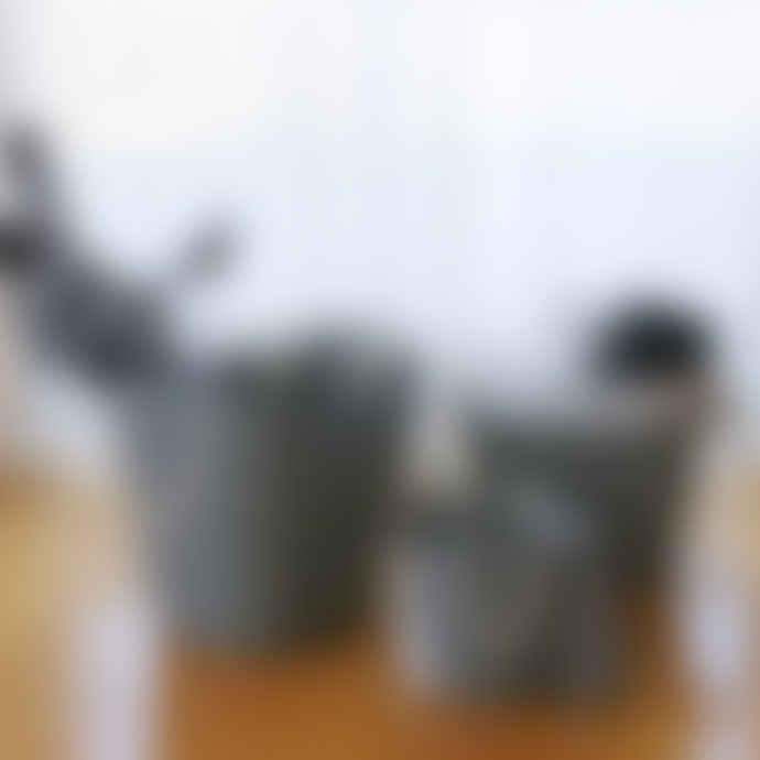 Hachiman Balcolore Laundry Storage Basket Medium in Navy